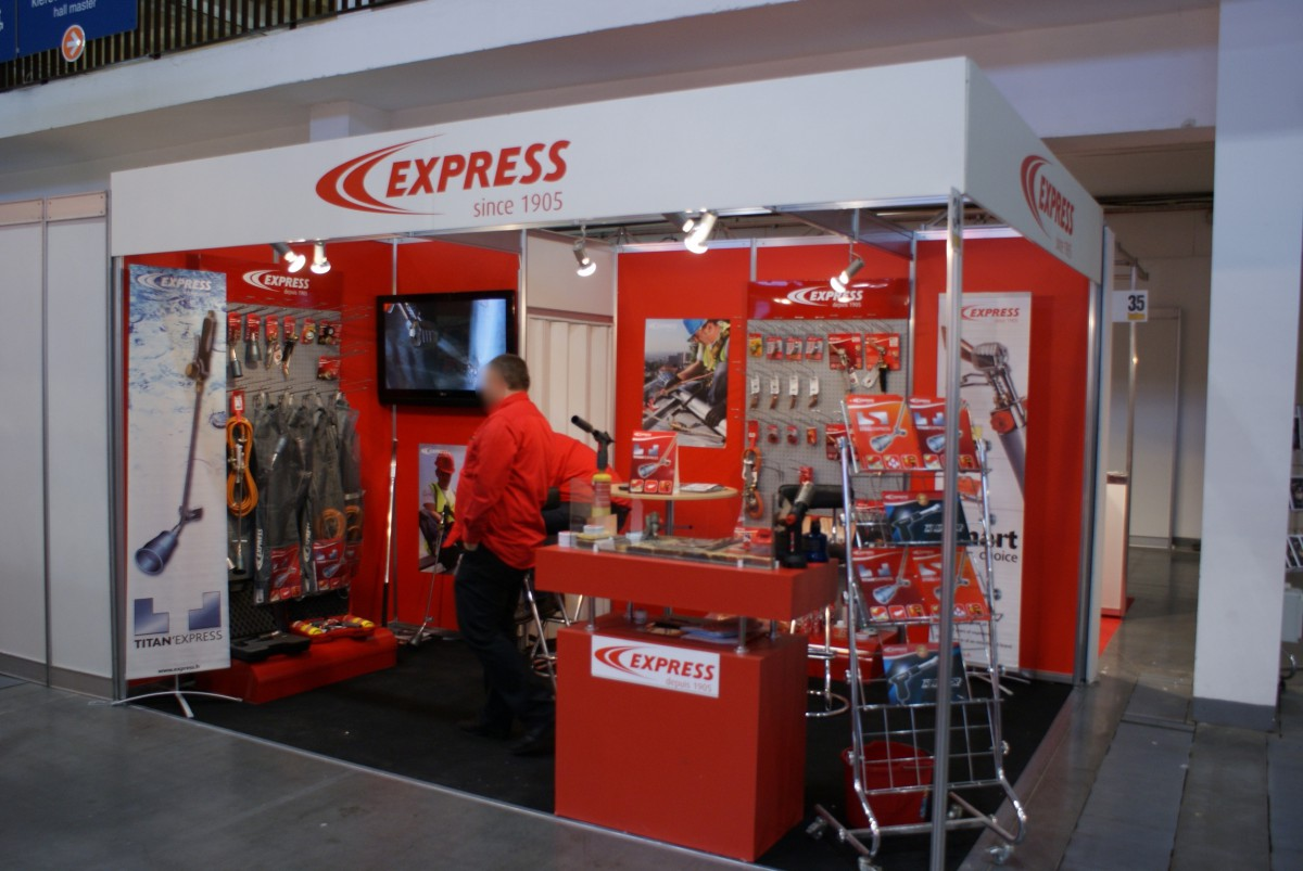 Company stand GUILBERT EXPRESS on trade show BUDMA 2014