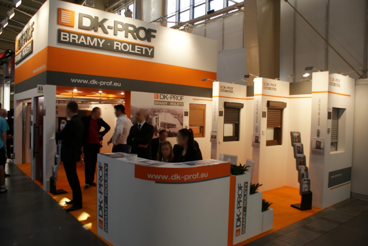 Company stand DK - PROF Sp. z o.o. on trade show BUDMA 2014