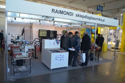 Company stand RAIMONDI on trade show BUDMA 2014