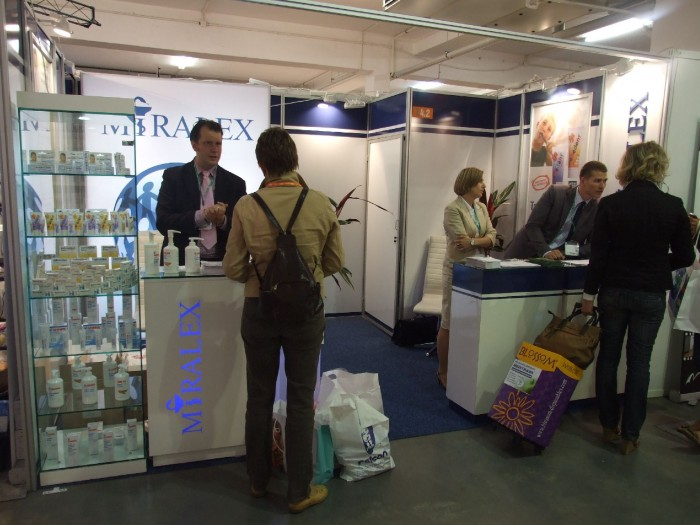 Company stand MIRALEX Sp. z o.o. on trade show CEDE 2011