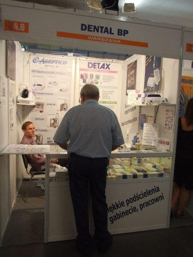 Company stand DENTAL BP on trade show CEDE 2011