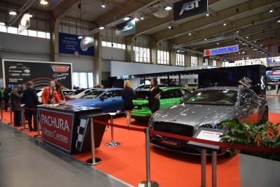 Company stand PACHURA Moto Center Sp. z o.o. - Praga - ABT on trade show MOTOR SHOW 2019