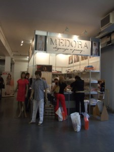 Company stand MEDORA Sp. z o.o. on trade show CEDE 2011