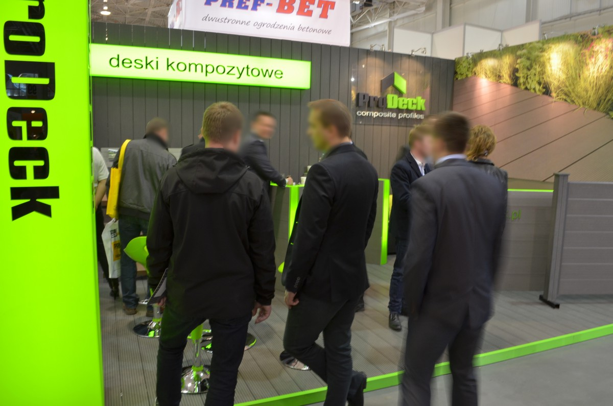 Company stand PRODECK Sp. z o.o. on trade show BUDMA 2014