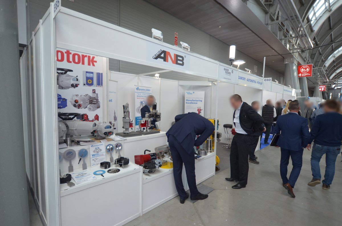Company stand ANB Sp. z o.o. on trade show EXPO-GAS 2019