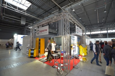 Company stand TOPSERW Sp.j. on trade show EXPO-GAS 2019