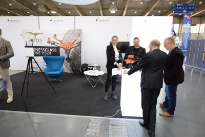 Company stand Soluxtec GmbH on trade show GREENPOWER 2019