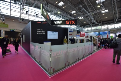 Company stand Brother Internationale Industriemaschinen GmbH on trade show FESPA 2019