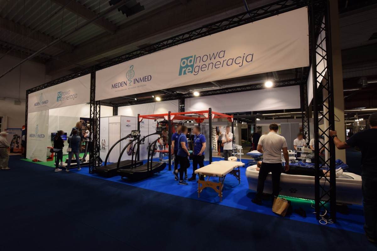 Company stand MEDEN-INMED Sp. z o.o. on trade show GO ACTIVE! SHOW 2019