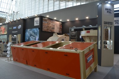 Company stand IMAL S.r.l. on trade show LIGNA HANNOVER 2019