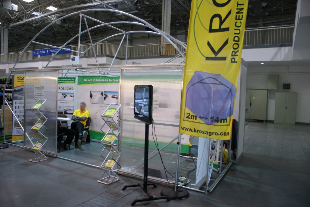 Company stand Stal Impex Sp. z o.o. on trade show GARDENIA 2014