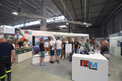 Company stand FIRE-MAX Sp. z o.o. on trade show KIELCE IFRE-EXPO & WORK SAFETY-EXPO 2019