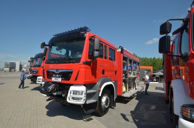 Company stand P.U.H. MOTO-TRUCK Leszek Chmiel on trade show KIELCE IFRE-EXPO & WORK SAFETY-EXPO 2019