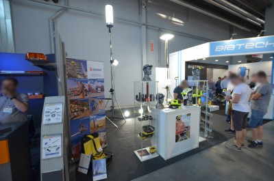 Company stand DRAVA s.c. on trade show KIELCE IFRE-EXPO & WORK SAFETY-EXPO 2019