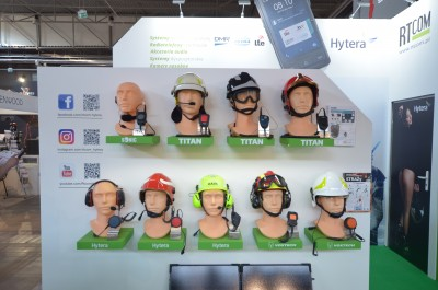 Company stand RTcom s.c. on trade show KIELCE IFRE-EXPO & WORK SAFETY-EXPO 2019