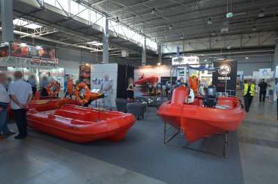 Company stand ROTO-TECH on trade show KIELCE IFRE-EXPO & WORK SAFETY-EXPO 2019