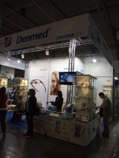 Company stand DENMED on trade show CEDE 2011