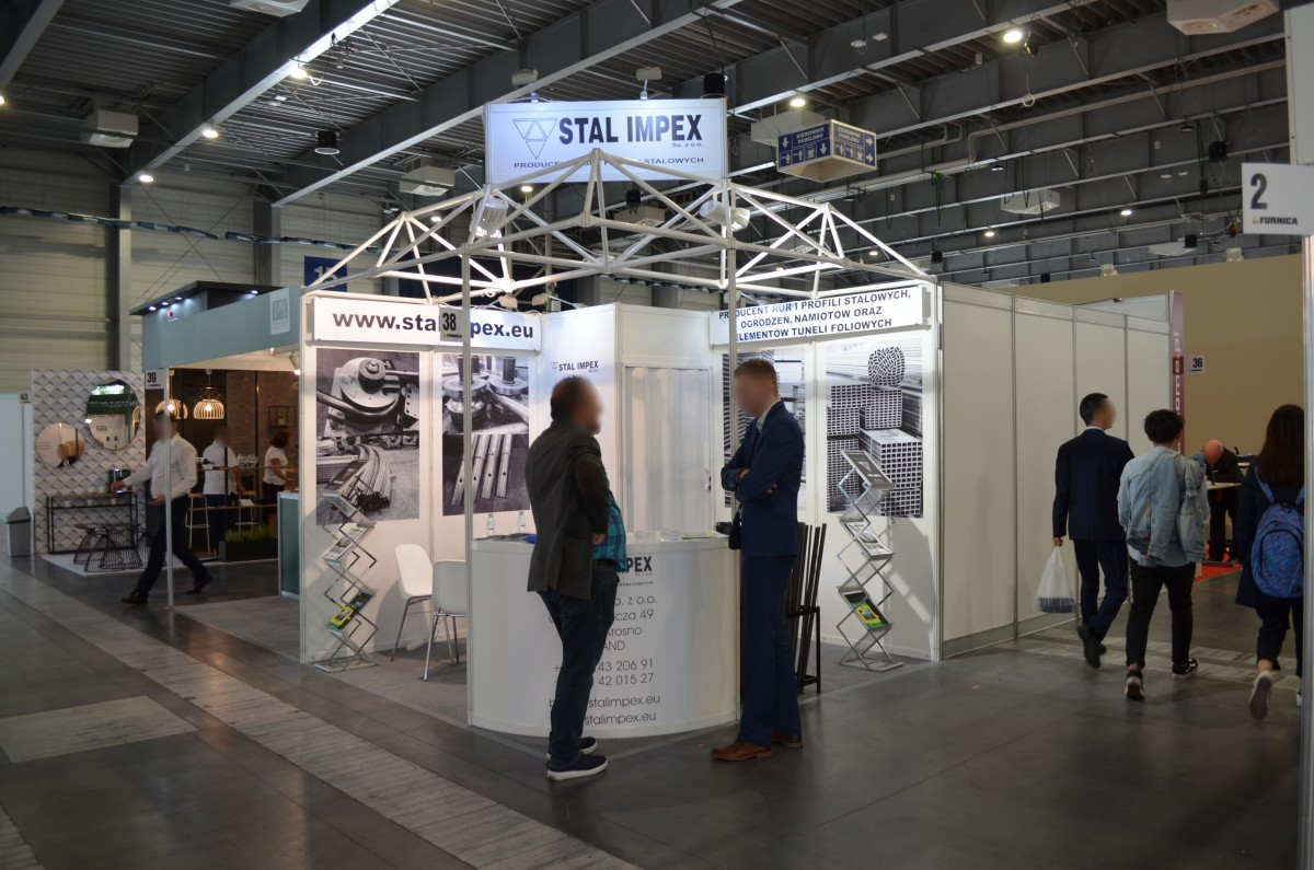 Company stand Stal Impex Sp. z o.o. on trade show FURNICA 2019