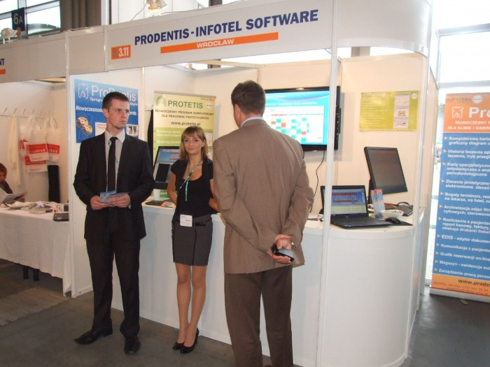 Company stand PRODENTIS - INFOTEL on trade show CEDE 2011