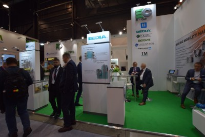 Company stand EL-CAB Sp. z o.o. on trade show TRAKO 2019