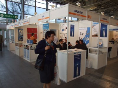 Company stand INFODENT INTERNATIONAL on trade show CEDE 2011