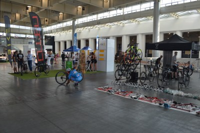 Company stand Velo7 sp. z o.o. sp.k on trade show Bike Show 2019