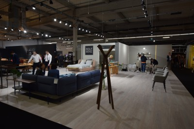 Company stand Rolf Benz AG & Co. KG on trade show WARSAW HOME 2019