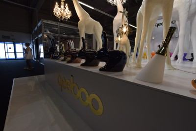 Company stand Qeeboo on trade show WARSAW HOME 2019