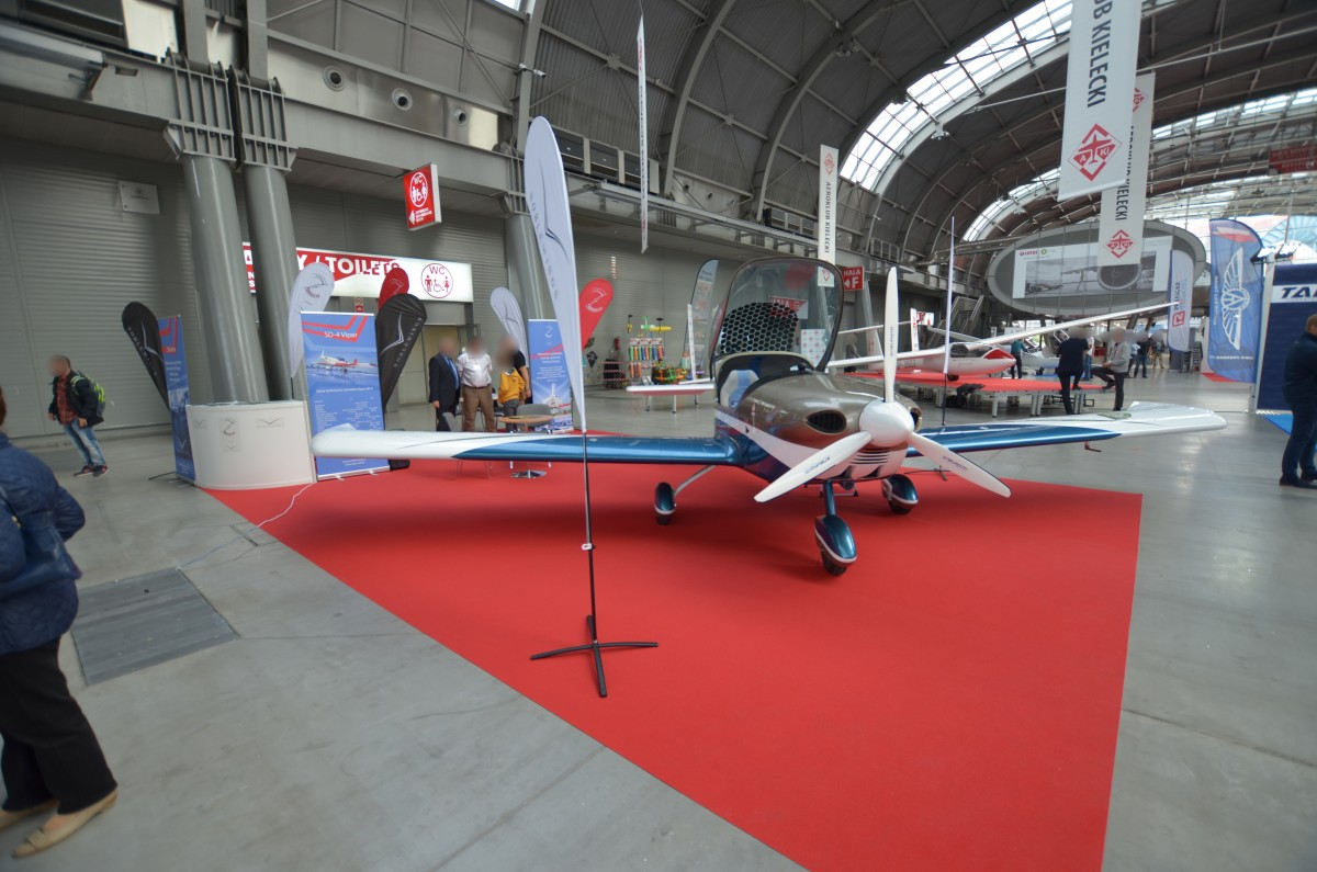 Company stand NOBLE WINGS SP. Z O.O./VIPER on trade show AVIATION EXPO 2019