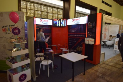 Company stand XF FRANCHISE SP. Z O.O. on trade show Franczyza 2019