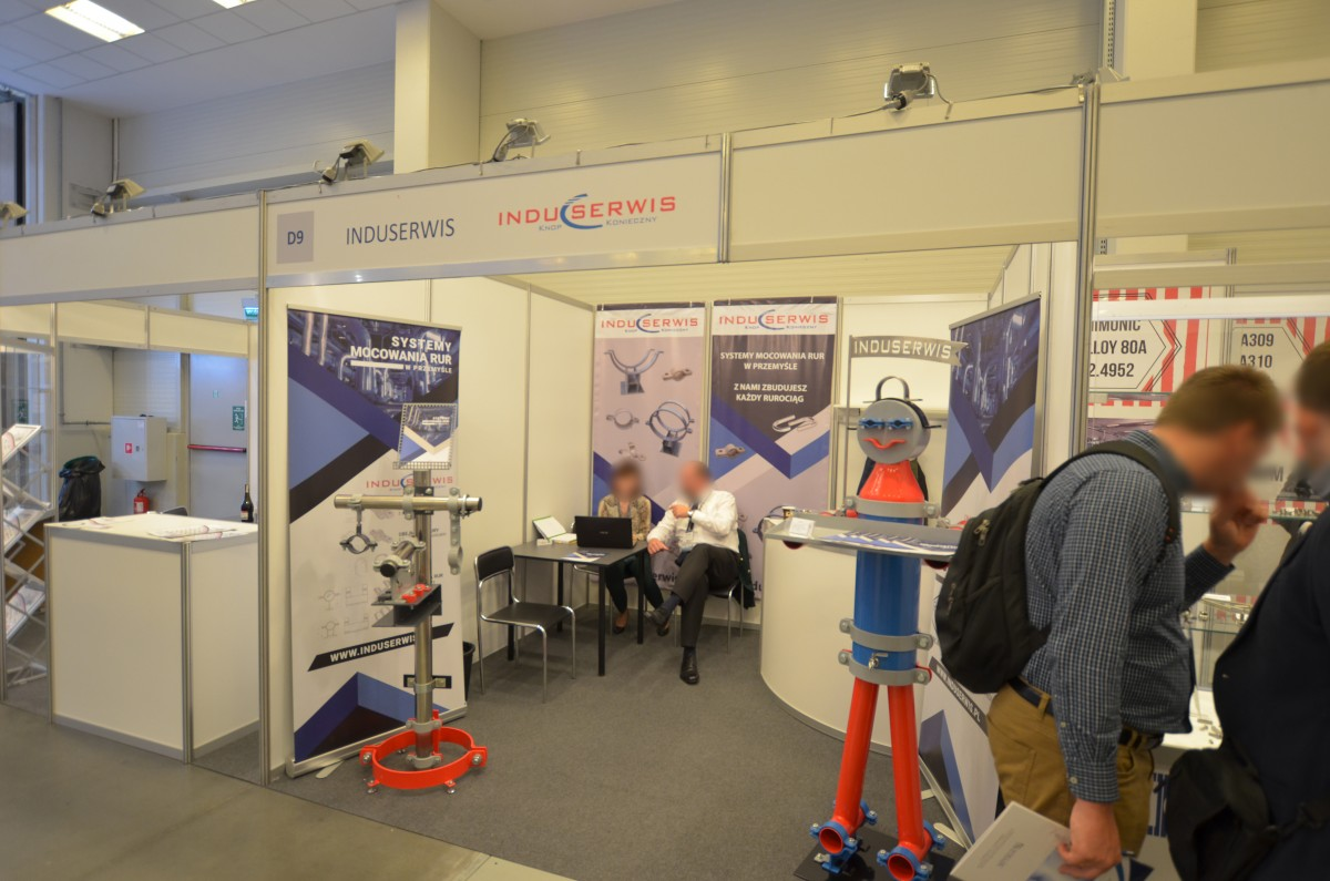 Company stand INDUSERWIS s.c. on trade show Fastener Poland 2019