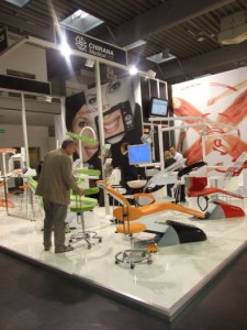 Company stand CHIRANA Medical, a.s. on trade show CEDE 2011
