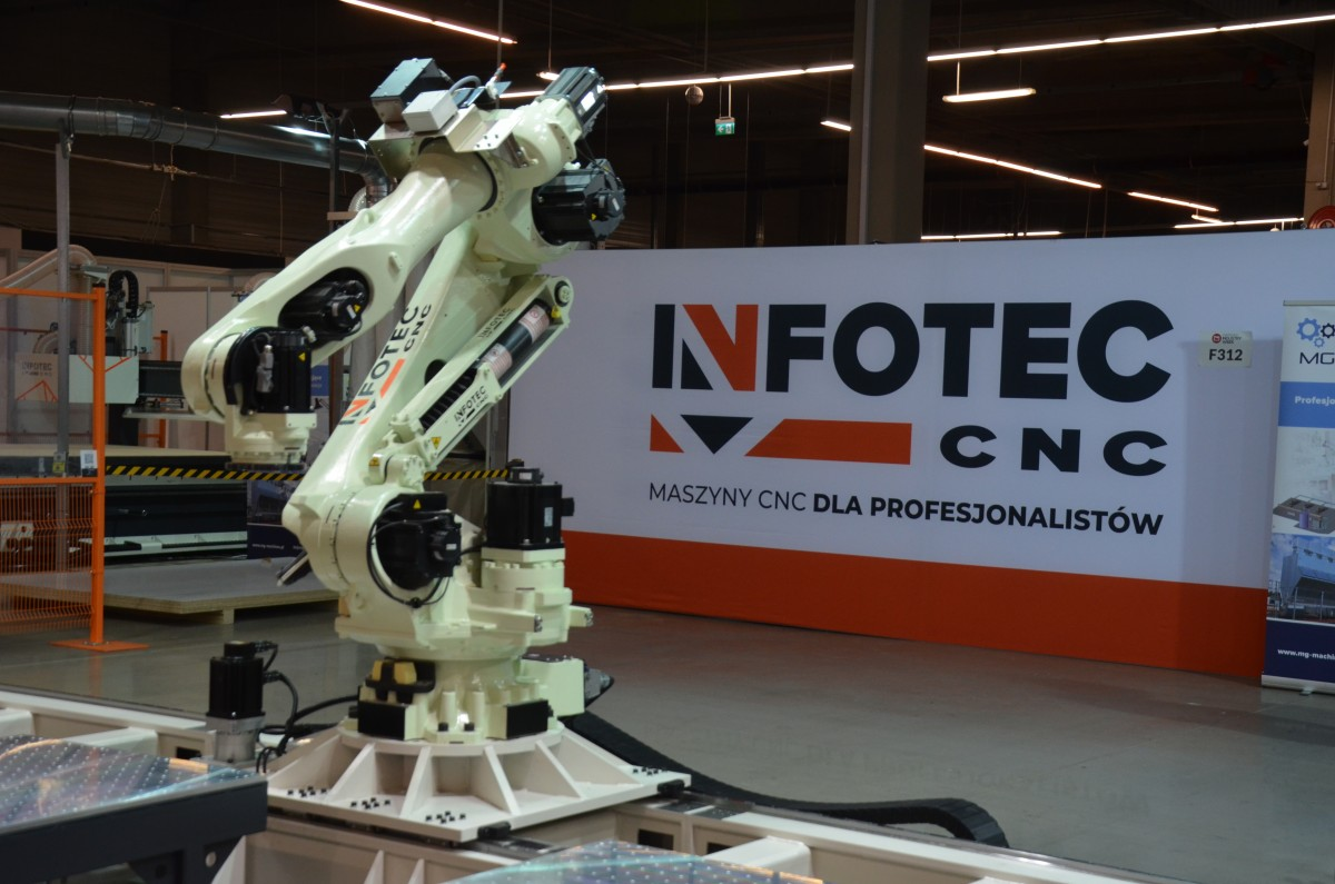 Company stand InfoTEC CNC on trade show WARSAW INDUSTRY WEEK 2019