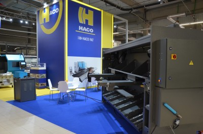 Company stand HACO FAT Sp. z o.o on trade show WARSAW INDUSTRY WEEK 2019