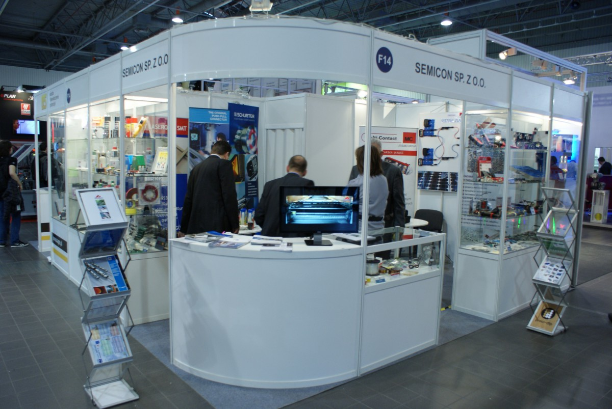 Company stand Semicon Sp. z o.o. on trade show AUTOMATICON WARSZAWA 2014