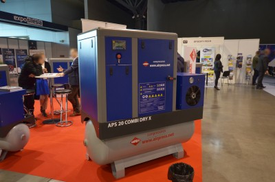 Company stand Airpress Polska Sp. z o.o. on trade show PLASTmeeting & HPAmeeting 2019