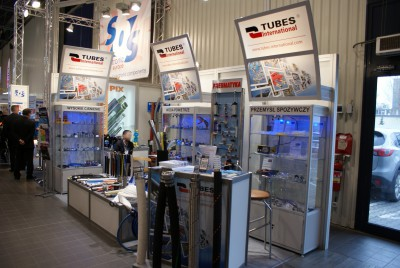 Company stand TUBES International Sp. z o.o. on trade show AUTOMATICON WARSZAWA 2014