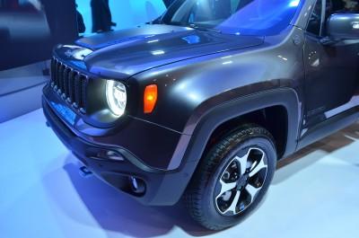 Company stand FCA US LLC on trade show INTERNATIONAL CES 2020
