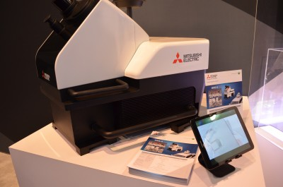 Company stand MITSUBISHI ELECTRIC on trade show INTERNATIONAL CES 2020