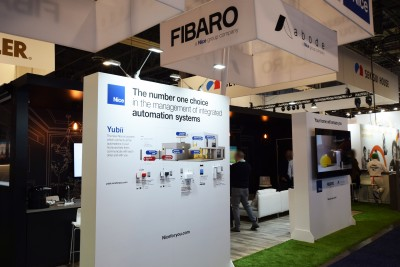 Company stand FIBARO on trade show INTERNATIONAL CES 2020