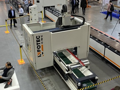 5-Axis Machining Center InfoTEC X-PRO 5 AXIS