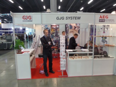 Company stand GJG System on trade show STOM-TOOL & STOM-BLECH & STOM-LASER & SPAWALNICTWO & WIRTOPROCESY & CONTROL-TECH & CONTROL-STOM 2014