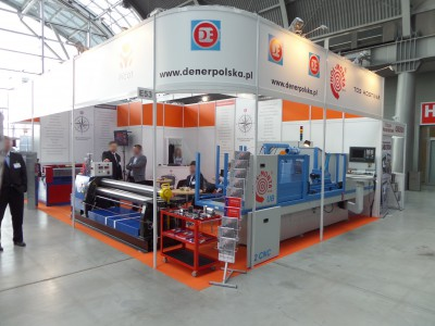 Company stand DENER on trade show STOM-TOOL & STOM-BLECH & STOM-LASER & SPAWALNICTWO & WIRTOPROCESY & CONTROL-TECH & CONTROL-STOM 2014