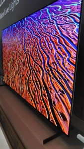 Company stand LG Electronics on trade show INTERNATIONAL CES 2020
