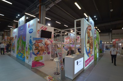 Company stand Euro-Trade Sp. z o.o. Sp.K. on trade show KIDS' TIME 2020