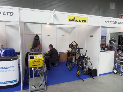 Company stand WAGNER-SERVICE on trade show STOM-TOOL & STOM-BLECH & STOM-LASER & SPAWALNICTWO & WIRTOPROCESY & CONTROL-TECH & CONTROL-STOM 2014