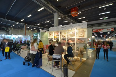 Company stand STOKKIDS / Stok P.H. on trade show KIDS' TIME 2020