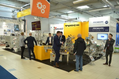 Company stand Turck Sp. z o.o. on trade show WARSAW PACK 2020