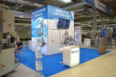 Company stand RADPAK Sp. z o.o. on trade show WARSAW PACK 2020