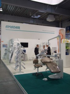 Company stand AMADAR Sp. z o.o. on trade show CEDE 2011